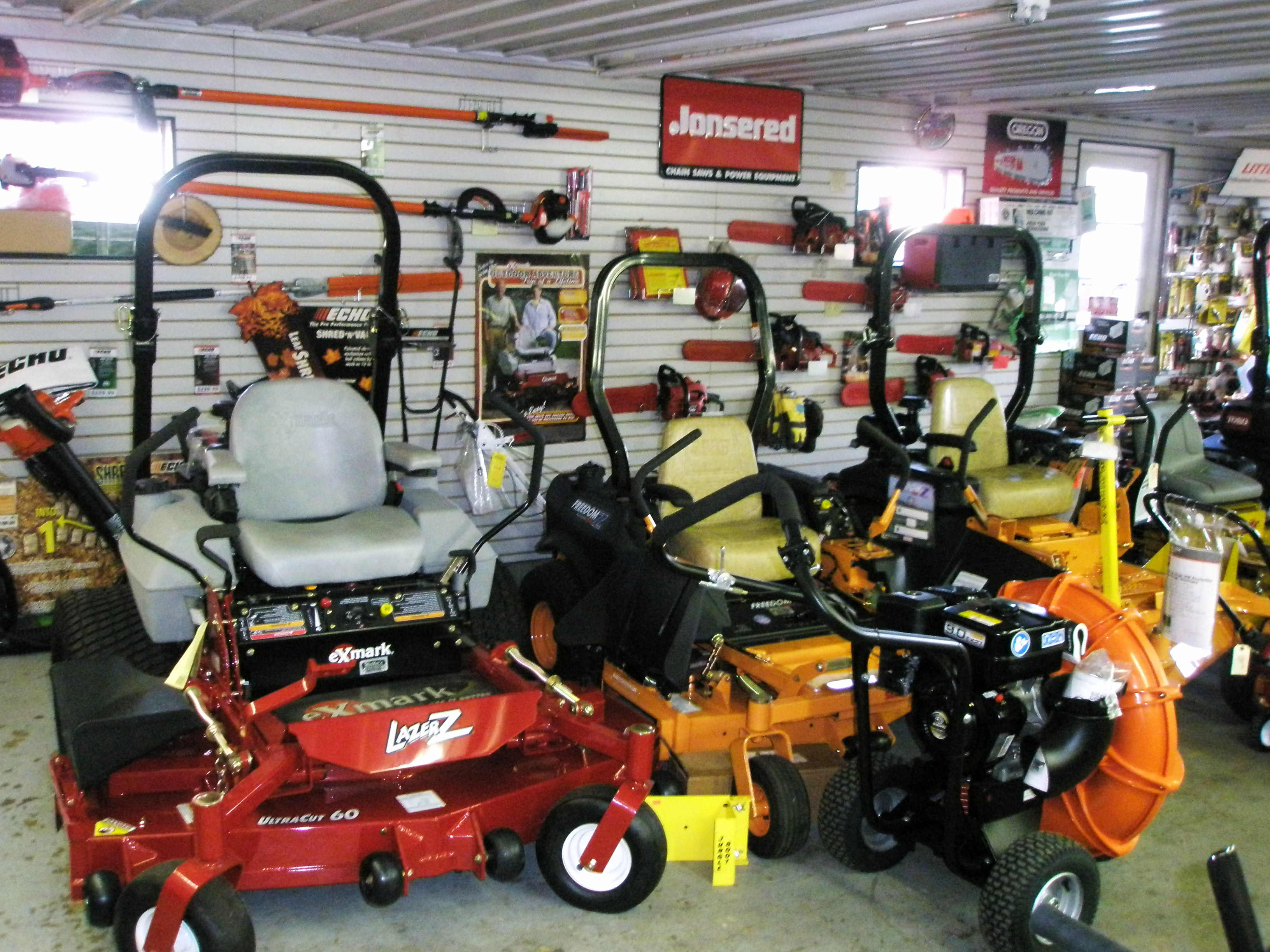 Walkers mower and equipment looking for lawn mowers tillers tractors chain saws trimmers snowblowers or woodchippers we provide the professional landscaper and homeowner with the publicscrutiny Choice Image