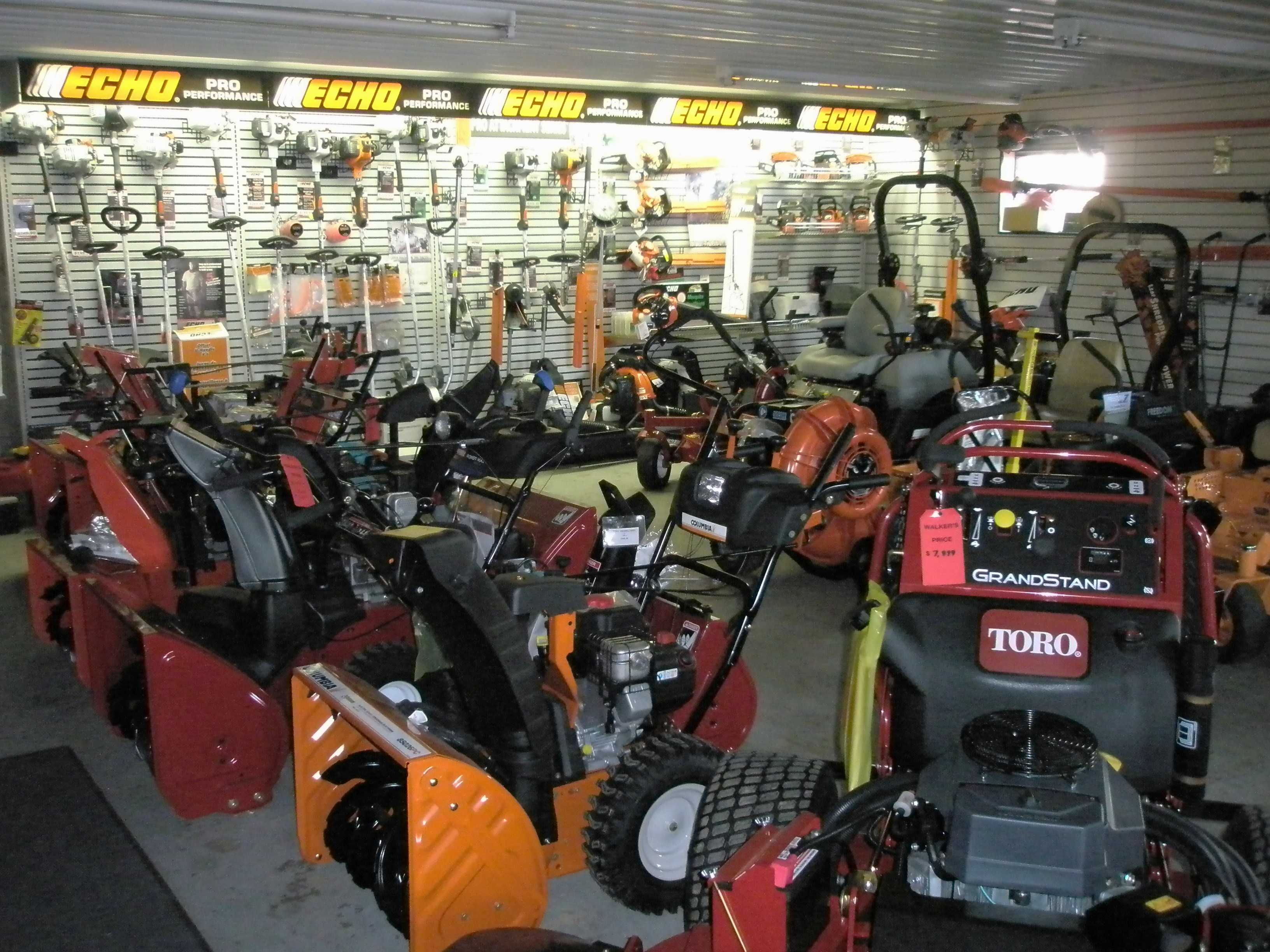 Walkers mower and equipment looking for lawn mowers tillers tractors chain saws trimmers snowblowers or woodchippers we provide the professional landscaper and homeowner with the publicscrutiny Images